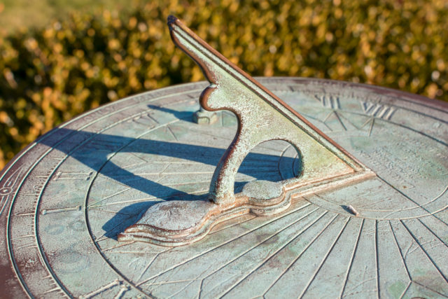 Sundial activity at the Guildhall Bury St Edmunds